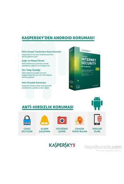Kaspersky Android Internet Security 1Kullanıcı 1Yıl