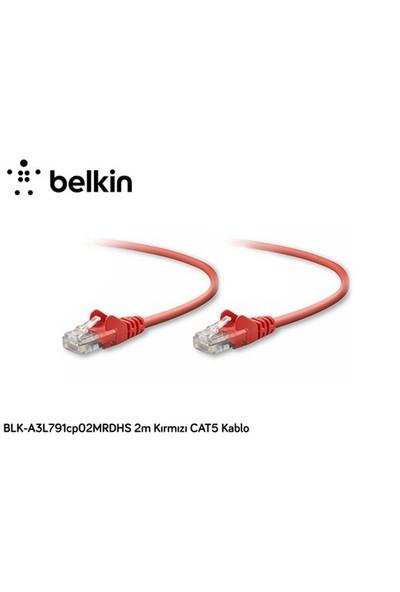 Belkin Blk-A3l791cp02mrdhs 2M Kırmızı Cat5 Kablo