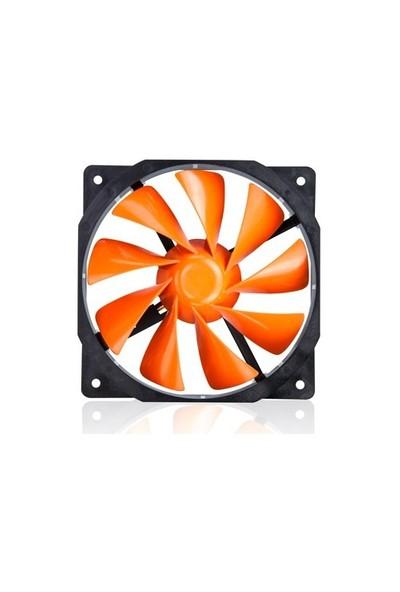 Xigmatek XOF-F1255 120x120x25mm Turuncu Kasa Fanı