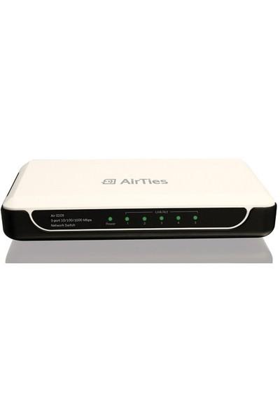 Airties Air 0205 5 Portlu 10/100/1000Mbps Gigabit Ethernet Switch