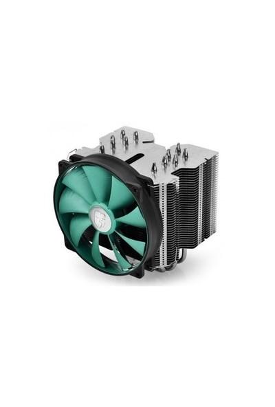 Deep Cool Lucifer V2 Soket Intel ve AMD 140x26mm Fanlı İşlemci Soğutucusu