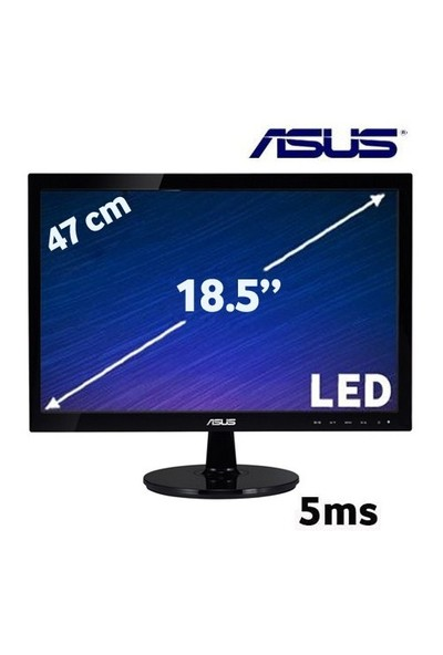 """Asus VS197D 18.5"""" 5ms LED Monitör"""