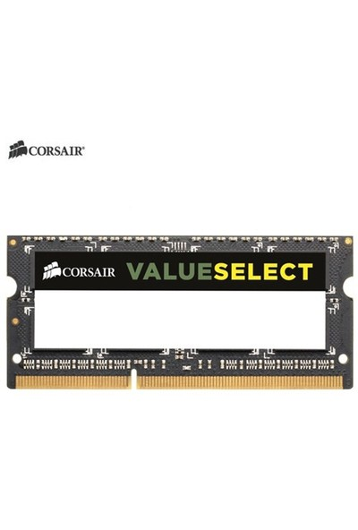 Corsair Value Select 8GB 1600MHz DDR3 Notebook Ram (CMSO8GX3M1A1600C11)