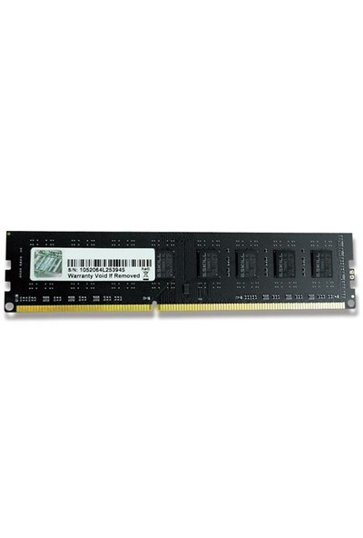 GSKILL Value DDR3-1600Mhz CL11 8GB DIMM (F3-1600C11S-8GNT)