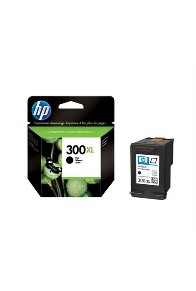 HP 300XL Siyah Mürekkep Kartuşu CC641EE / CC641E