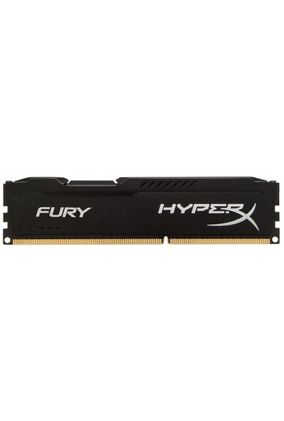 Kingston HyperX Fury Black 8GB 1600MHz DDR3 Ram (HX316C10FB/8)