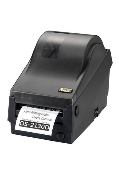 Argox OS-2130D Direkt Termal Giriş Seviyesi Barkod Yazıcı