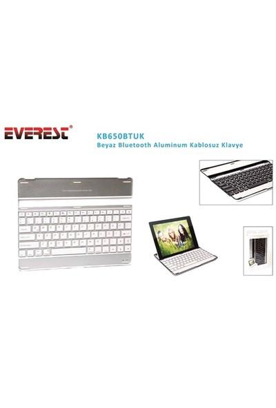 Everest Kb650btuk Beyaz Bluetooth Aluminum Kablosuz Klavye