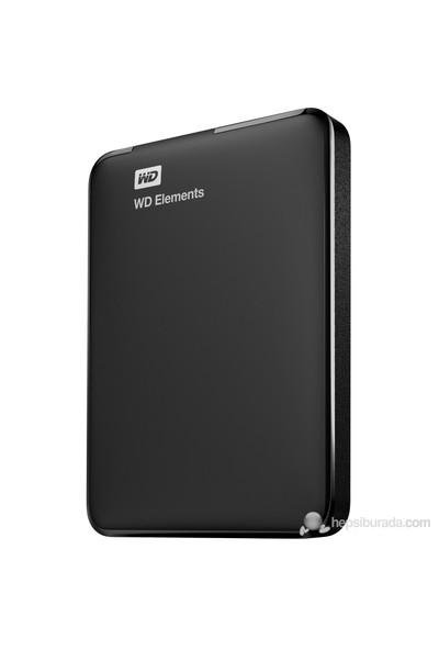 WD Elements 500GB 2.5'' USB 3.0 Taşınabilir Disk (WDBUZG5000ABK-EESN)