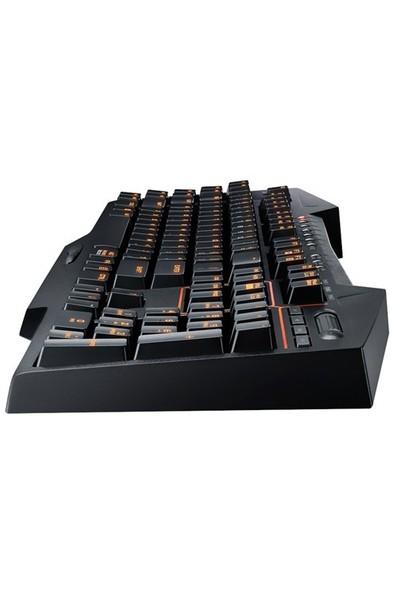 Asus Strix Tactic Pro Cherry MX Kahverengi Mekanik Türkçe Oyuncu Klavye