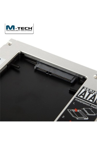M-Tech MSSC0127 Notebook için Ekstra 12.7mm SATA Caddy HDD Yuvası