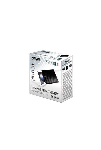 Asus SDRW-08D2S-U Lite 8X USB Siyah Harici Optik Sürücü