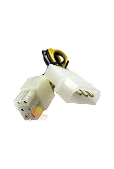 Akasa 6-PIN PCI-E Güç Dönüştürücü Kablo