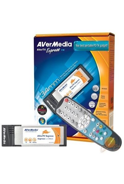 Avermedia Express Tv Kartı Analog Pcmcia Express 34MM Fm-uk