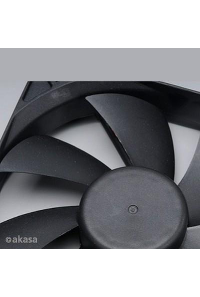 Akasa Classic 12cm Sessiz Siyah Kasa Fanı (AK-DFS122512L)