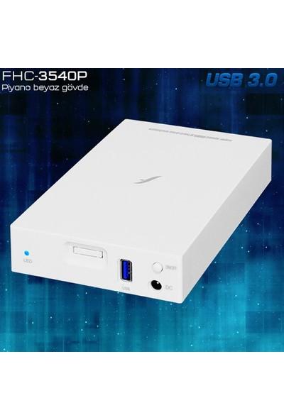 "Frisby FHC-3540P 3,5"" SATA USB3.0 Harici Kutu"
