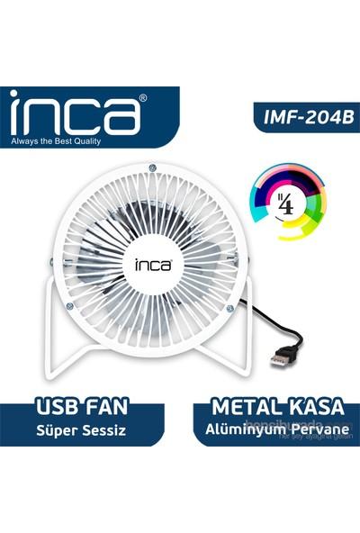 Inca IMF-204B Masaüstü Beyaz 4'Metal Fan + Alüminyum Pervane