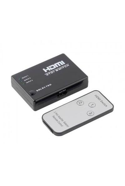 S-Line Hdmı Switch 3X1 3D Çoklayıcı