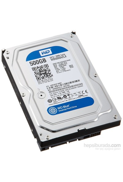 "Wd Blue 3.5"" Sata 6 Gb-S 500Gb 7200Rpm 32Mb"