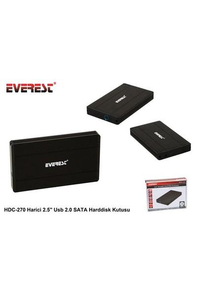 Everest Hdc-270 Harici 2.5` Usb 2.0 Sata Harddisk Kutusu