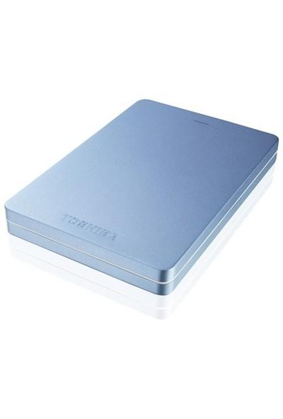 "Toshiba Canvio Alu 1TB 2.5"" Metalik Mavi Taşınabilir Disk HDTH310EL3AA"
