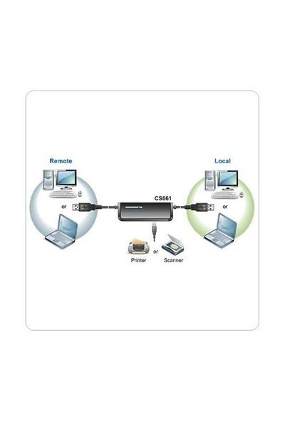 Digitus Notebook USB Kvm Switch ATEN-CS661