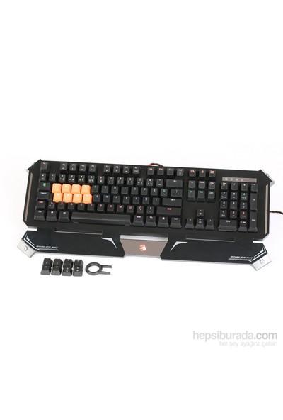 Bloody B740A Q Türkçe Multimedya USB Mekanik Q Klavye (Kızılötesi Switch)
