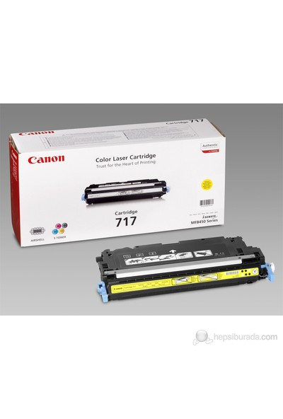 Canon Crg 717Y MF8450 Sarı Toner