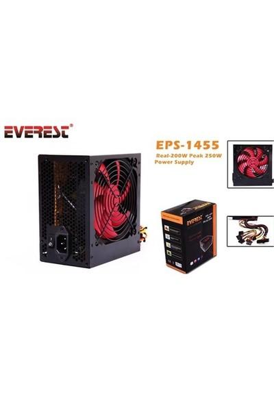 Everest EPS-1455 Peak-250W 12cm Fanlı 2 adet SATA Power Supply