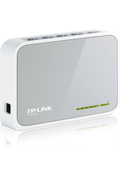 TP-LINK TL-SF1005D 5-Port 10/100Mbps Tak ve Kullan % 60 Enerji Tasarruflu Switch