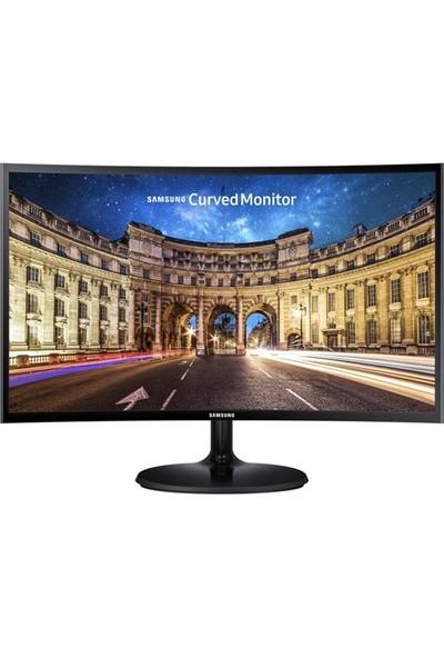 """Samsung LC24F390FHMXUF 23.5"""" 4ms (Analog+HDMI) Full HD FreeSync Curved Monitör"""