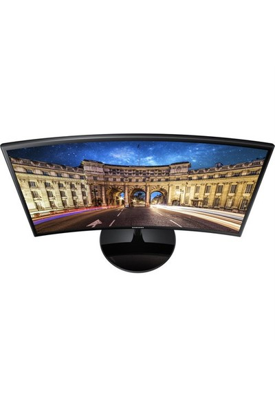 """Samsung LC24F390FHMXUF 23.5"""" 60-72Hz (Analog+HDMI) Full HD FreeSync Kavisli VA Monitör"""