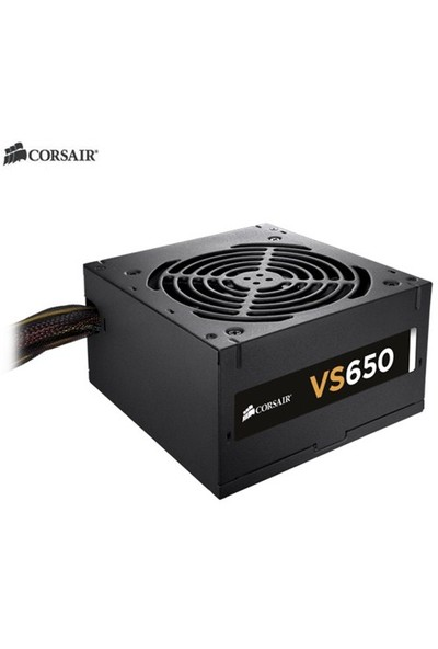 Corsair Builder VS650 650W 80+ Power Supply (CP-9020098-EU)