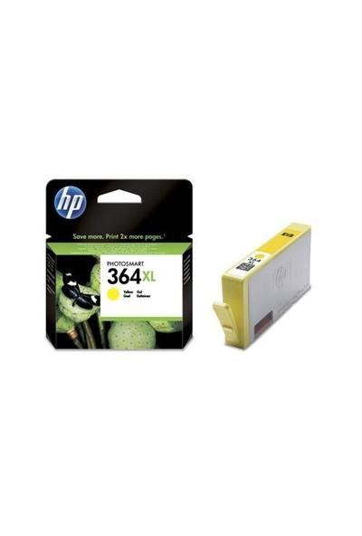 HP 364XL Sarı Mürekkep Kartuş CB325EE / CB325E