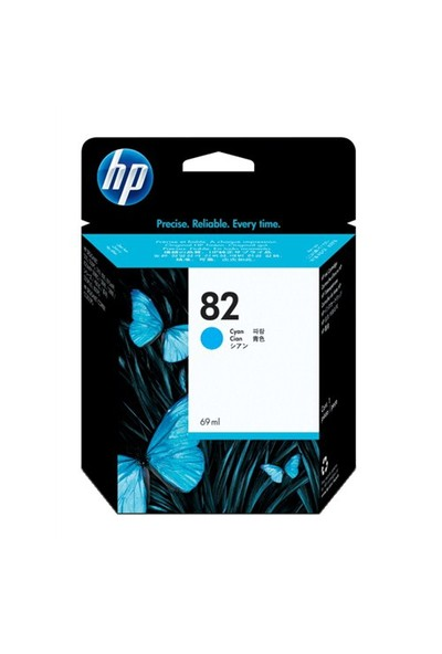 HP 82 Mavi Mürekkep Kartuş C4911AE / C4911A