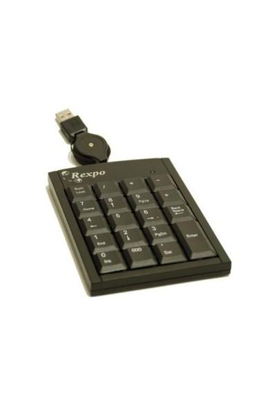 Rexpo RP–18 Numerik Klavye