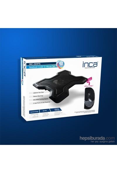 Inca INC-269TS Notebook Soğutucu +Mouse Seti