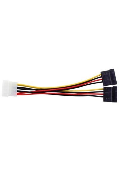 Dark P102 4Pin Molex - 2x15Pin SATA Dönüştürücü Kablo (DK-CB-P102)