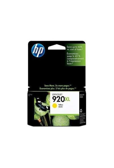 HP 920XL Sarı Mürekkep Kartuş CD974AE / CD974A