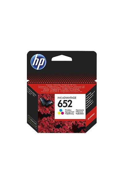 HP 652 Renkli Mürekkep Kartuşu F6V24AE