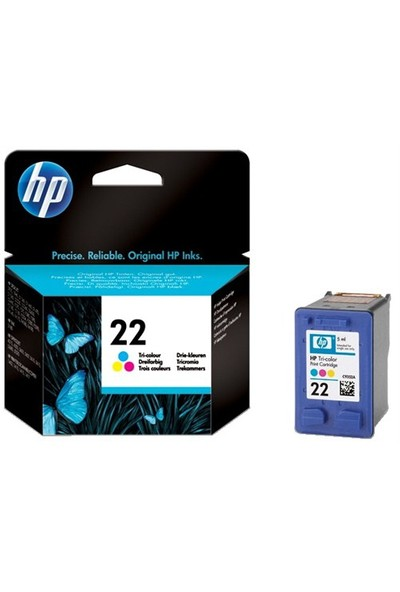 HP 22 TRI Color Kartuş C9352AE / C9352A