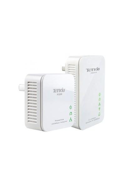 Tenda PW201A+P200 300Mbps HomePlug Wireless Powerline Kit