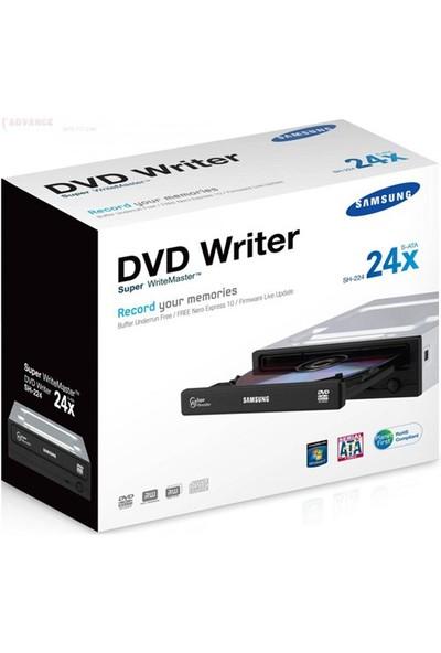 Samsung DVD-RW SH-224FB/RSMS 24X Sata Kutulu DVD Optik Sürücü