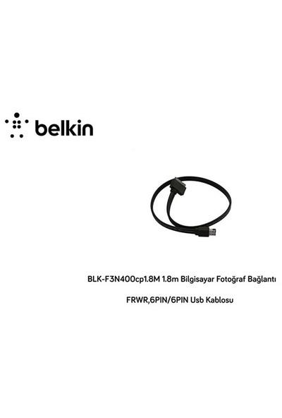 Belkin Blk-F3n400cp1.8M 1.8M Bilgisayar Fotoğraf Bağlantı Frwr,6Pın/6Pın Usb Kablosu