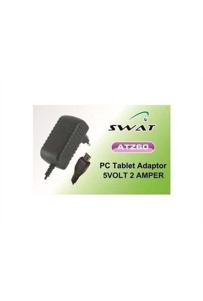 Swat Tablet Adaptörü 5V 2A Micro Usb