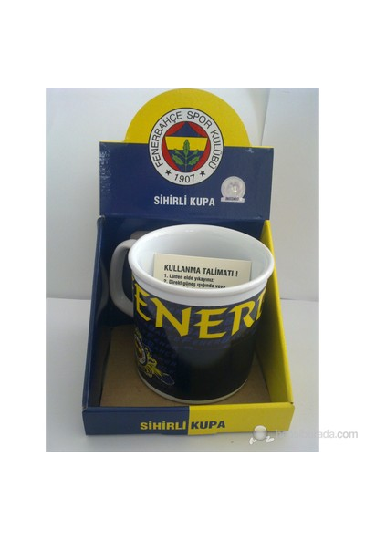 Fenerbahçe Lisanslı Sihirli Taraftar Kupa Bardak No:2