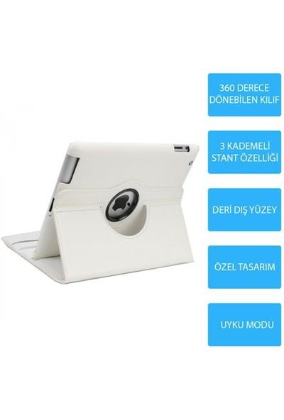 Mobile World iPad Air Beyaz Kılıflı 3 Parça Aksesuar Seti