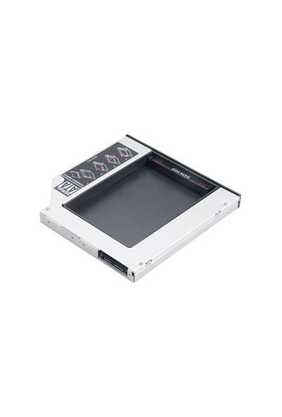 Akasa N.Stor Notebook Extra SATA HDD Yuvası (12.7mm)(AK-OA2SSA-BK)