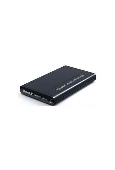 """Ducki 2.5"""" USB 2.0 Mobil Sata Harddisk Kutusu Siyah"""