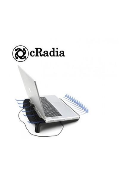 Cradia CRF-105 Siyah Blowmax Notebook Soğutucu